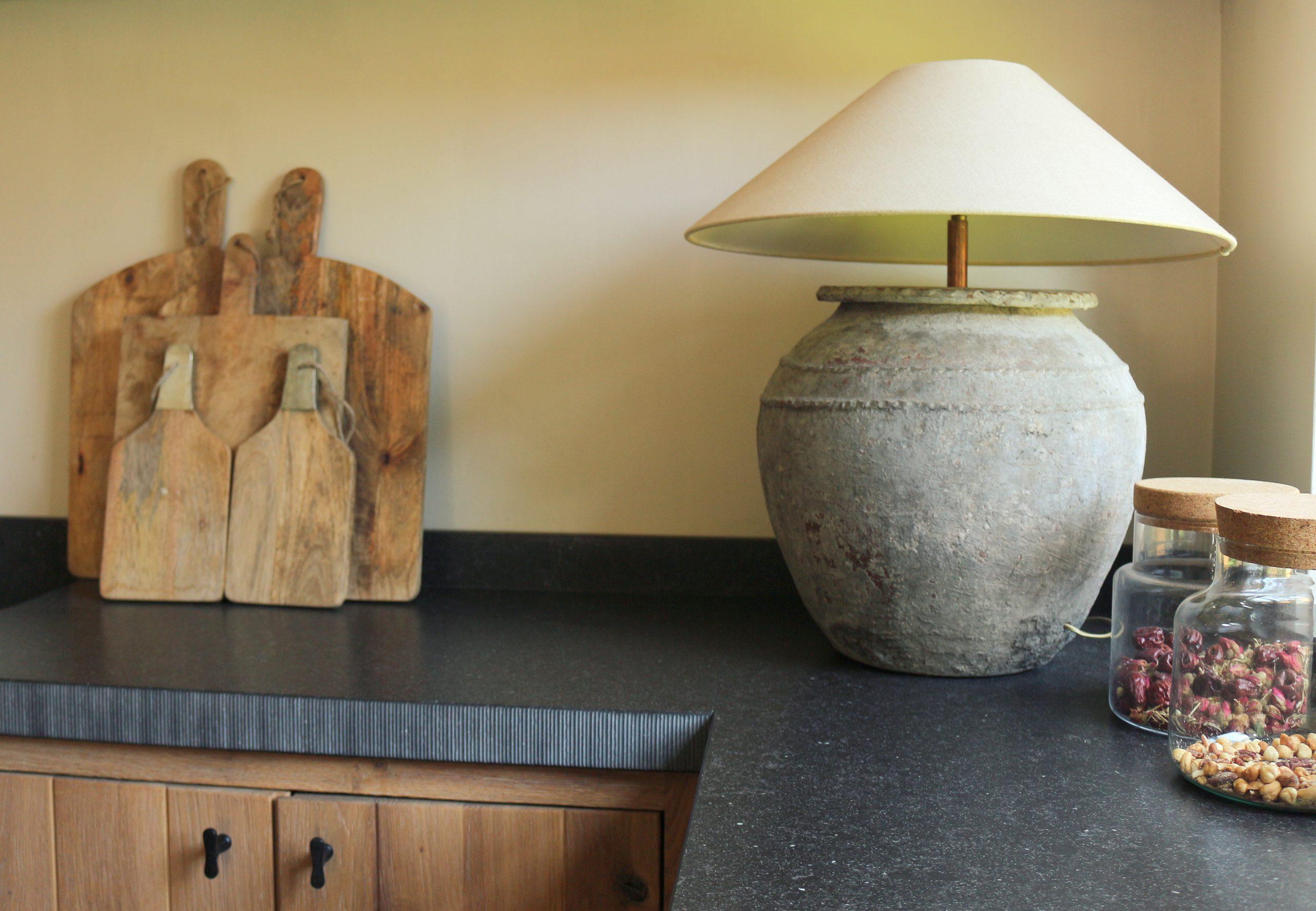 Projecten - project Breda lampenkappen op maat aardewerk lampvoeten