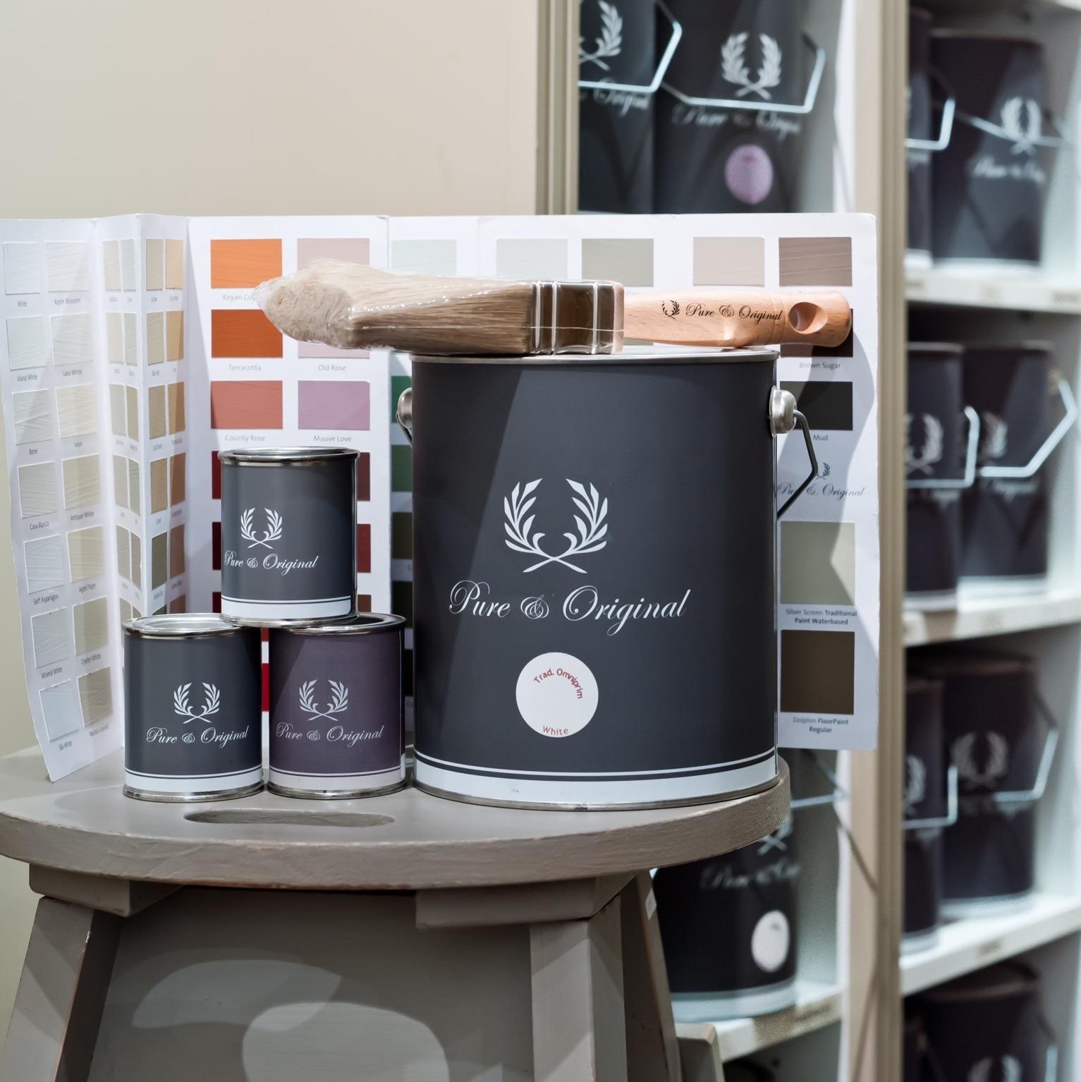 Collectie (verzamelpagina) - verf Pure & Original dealer