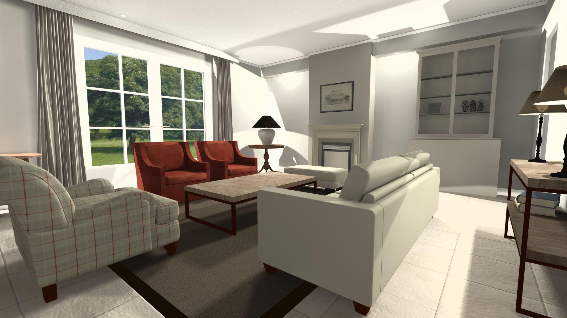 Interieuradvies op maat Chopard Interieur 3d-ontwerpen tekening 3d